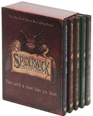 the spiderwick chronicles boxed the spiderwick chronicles box set the field guide the seeing stone lucinda s secret the