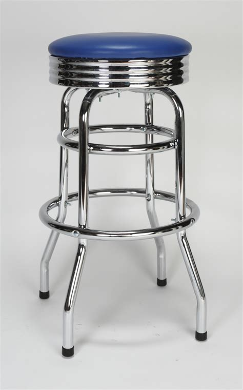 bar stools chrome chrome circle swivel bar stool restaurant furniture