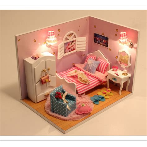 fashion doll houses 2016 fashion sweet moment dollhouse miniature toys for kid s birthday gift creative
