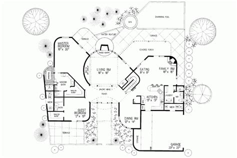 adobe house plans adobe style house plans with courtyard