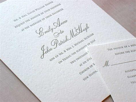 Emily Post Wedding Invitation Wording Etiquette