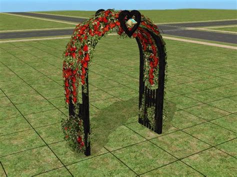 Wedding Arch Name by Mod The Sims Requested Black Wedding Arch