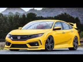 Honda Civic Modified The All New 2016 Honda Civic Custom Colour Modification