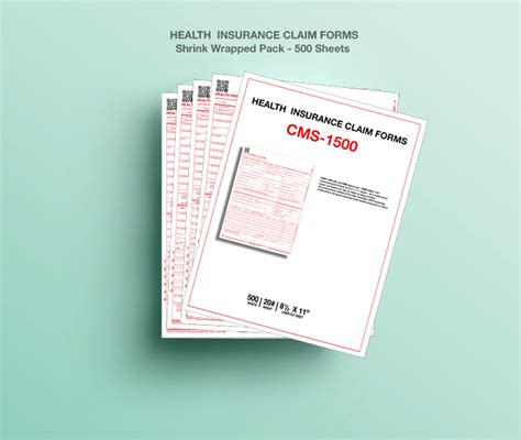 cms  health insurance paper claim forms