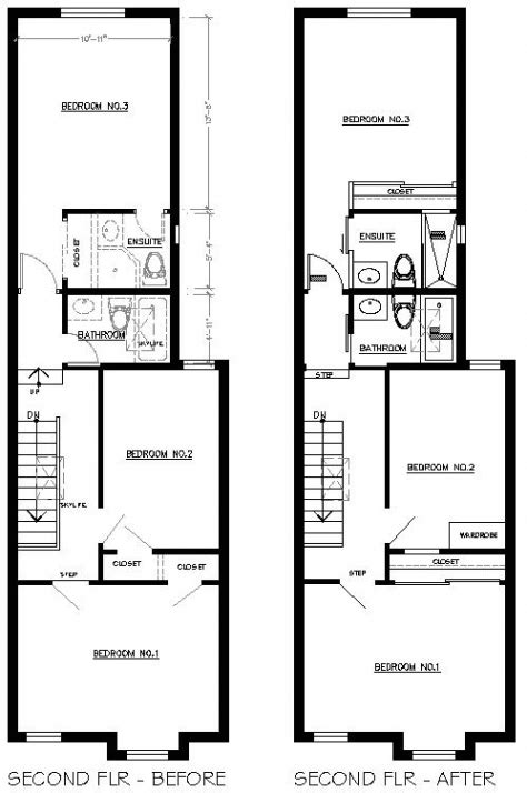 recommended row home floor plan new home plans design
