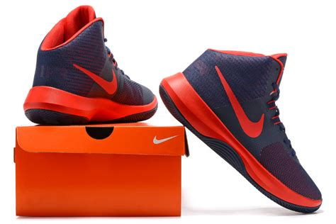 nike casual basketball shoes adaptable nike air precision 2017 navy blue s