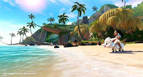 moana playset with boat here is what the moana play set for disney infinity would