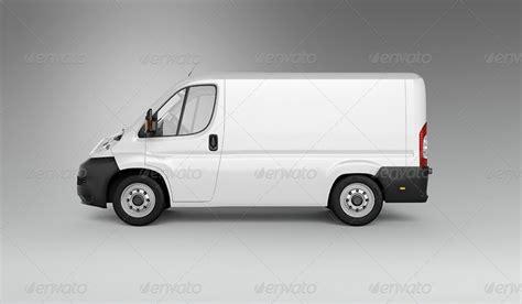 van car mock up by ayashi graphicriver