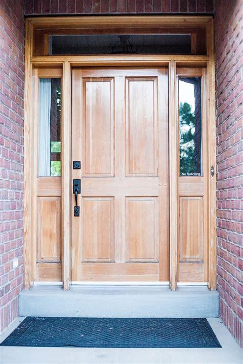 diy front door do it yourself divas diy refinish front door