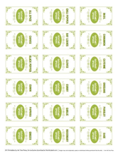 free printable kitchen spice labels free printables pinterest 17 best images about free printable spice labels on