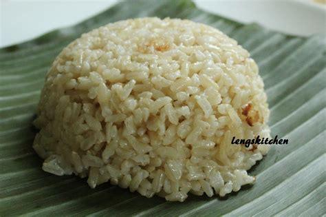 kitchen chaos nasi lemak  chicken rendang