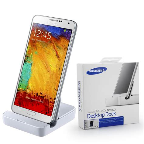 Chager Galaxy Note 3 genuine samsung galaxy note 3 iii desktop dock charger