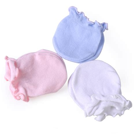 Baby Mittens Boy by Newborn Boy Soft Cotton Infant Handguard Anti Scratch