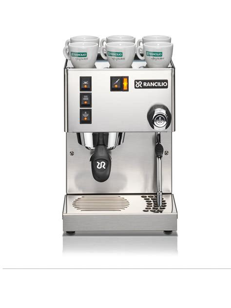rancilio home espresso machine prima coffee