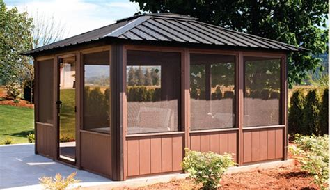 enclosed gazebo tub gazebos enclosed open air gazebos calspas of