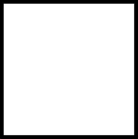 Black Outlined Rectangle by Black Square Outline Clipart Best