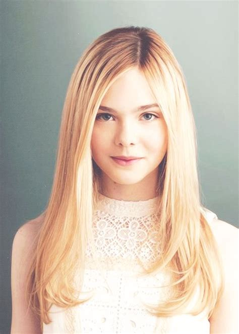 hairstyles for 9 year olds with long straight hair 69 best elle fanning images on pinterest dakota fanning