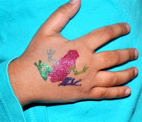 glitter tattoo care glitter and face paint parties beauty parties