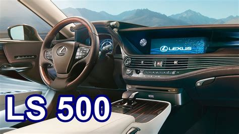 lexus ls interior 2018 2018 lexus ls 500 interior youtube