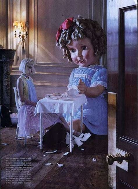 doll fashion editorial creepy doll fashion editorials wixson vogue italia