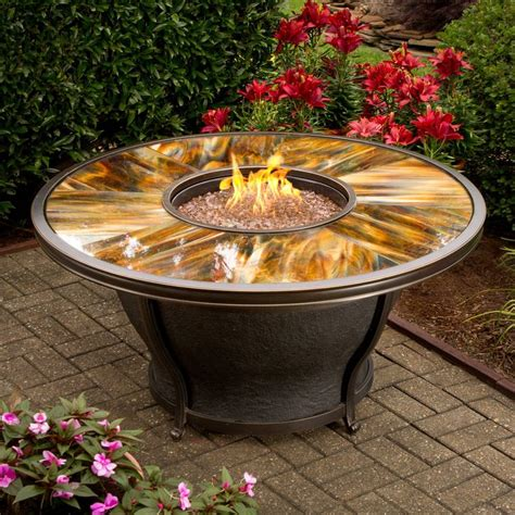 pit table gas oakland living moonlight gas pit table outdoor