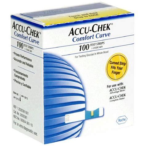 accu chek comfort test strips accu chek comfort curve test strips 100 count box