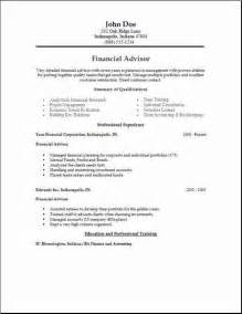 finance economics resume occupational exles sles