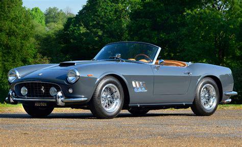 classic ferrari convertible 1963 ferrari 250 gt swb california spyder a classic cars