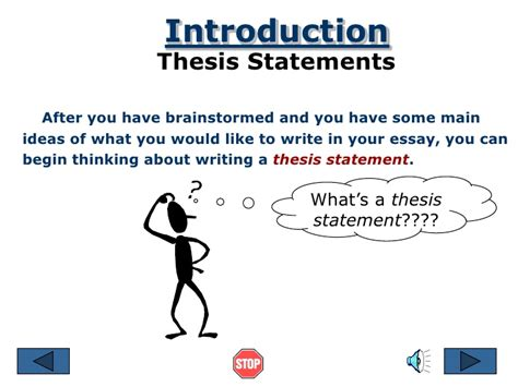 How Do I Write A Thesis Statement For An Essay by Writing Thesis Statements Ppt 100 Original Www Apotheeksibilo Apotheek Sibilo