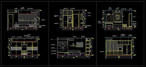 autocad room design master room design template cad drawings cad