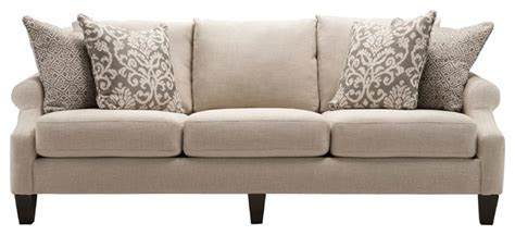 raymour and flanigan chenille sofa tatiana chenille sofa transitional sofas other metro