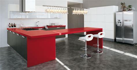imagenes de cocinas integrales rojas cocinas en rojo pasi 243 n cocinas con estilo consejos