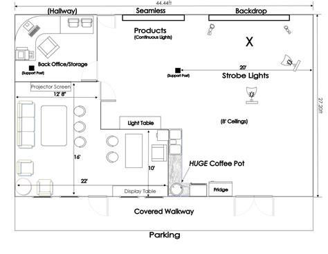 photography studio floor plans central arkansas photo studio