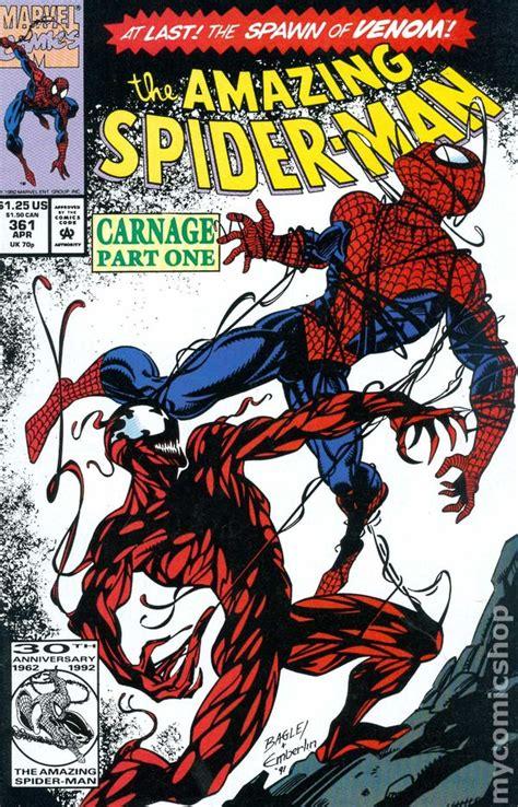 carnage omnibus timeline of events in spider man comics 1963 2012