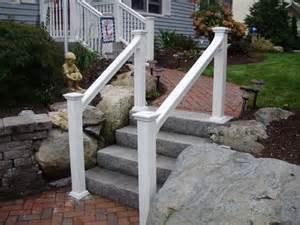 Pvc Stair Railings by Vinyl Deck Amp Stair Railings