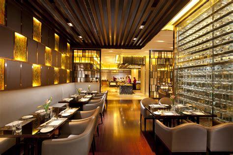 interior design cafe singapore hilton hotel restaurant interior design in singapore