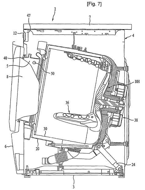 lg front load washer parts diagram lg washing machine wiring diagram lg free engine image