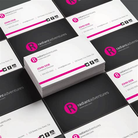 Business Card Template Indesign Cs6 by Learn Indesign Photoshop Design Procademy