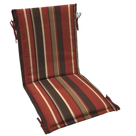 Arden Outdoor Patio Sling Chair Cushion   Monserrat Stripe