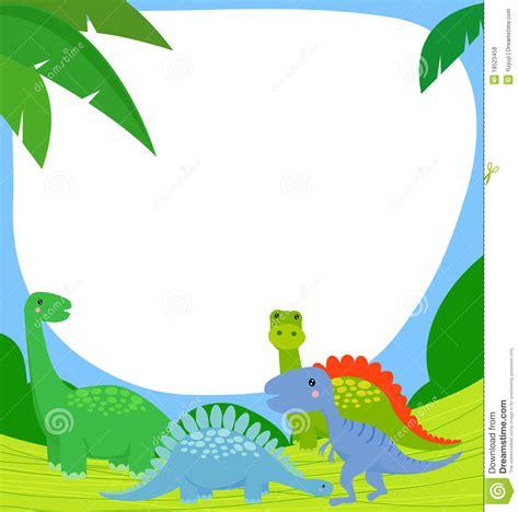 dinosaur and frame royalty free stock photos image 18523458