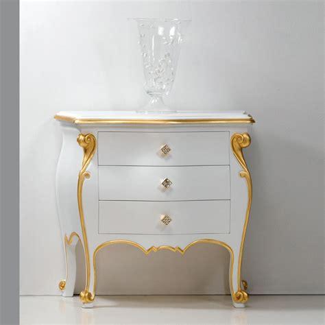 comodino design comodino design classico con profili oro bio made in italy