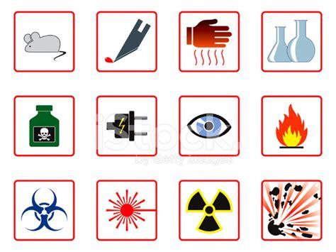 Epc Hazard 3 laboratory safety symbols stock photos freeimages