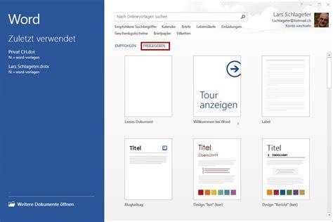 Word Vorlage In Outlook Einbinden tutorial office word 2013 2016 f r einsteiger it zeugs de
