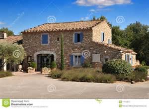 maison en de la provence photographie stock libre