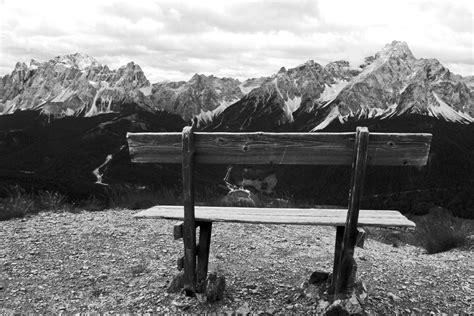 foto di panchine la panchina foto immagini natura montagna paesaggi