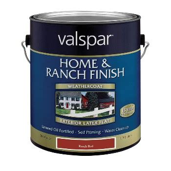buy the valspar 18 5521 10 07 barn and fence paint ranch hardware world