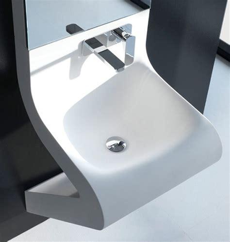 wash basin designs wave washbasin by artceram with integrated mirror cabinet