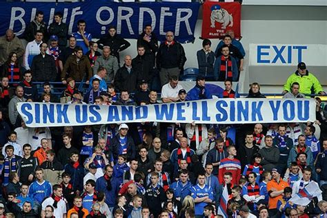 scotland has a bad day why scotland needs rangers supporters not customers