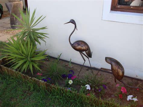Garden Metal Birds The End Of Mr Ficus Pot An Exploring South