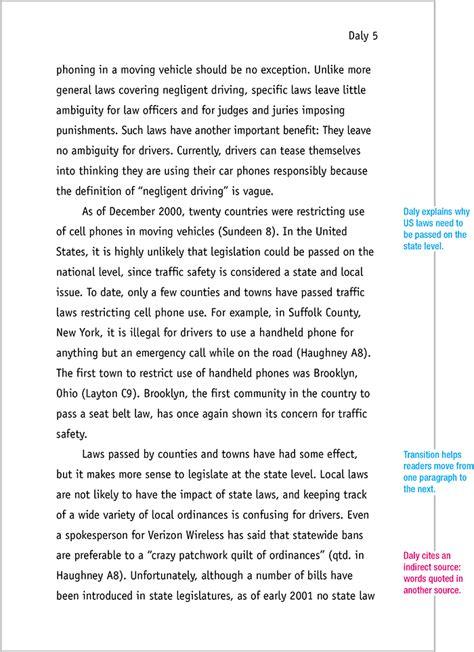 mla format sample paper  edition mla format